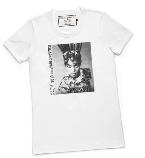 A212: FASHION: Dolce & Gabbana For Naomi Campbell 25th