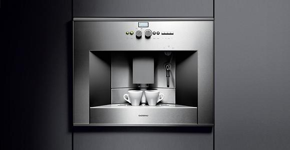 Marzua Cafetera Integrable Cm 210 De Gaggenau