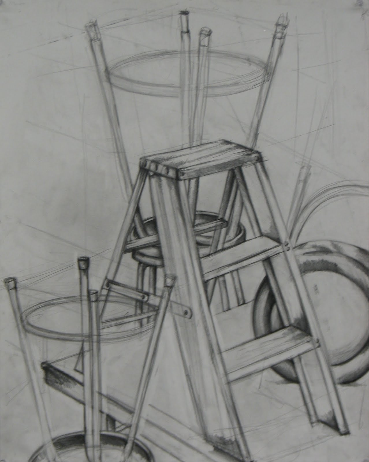 Nathan Bond S Drawing Class September 20th Positive And