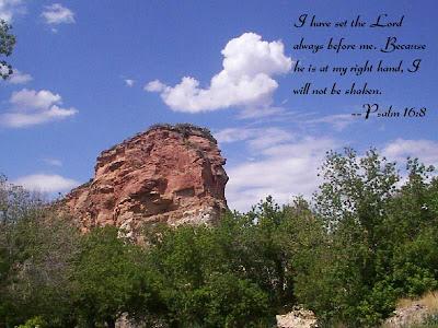 Psalm 16:8 Bible Verse