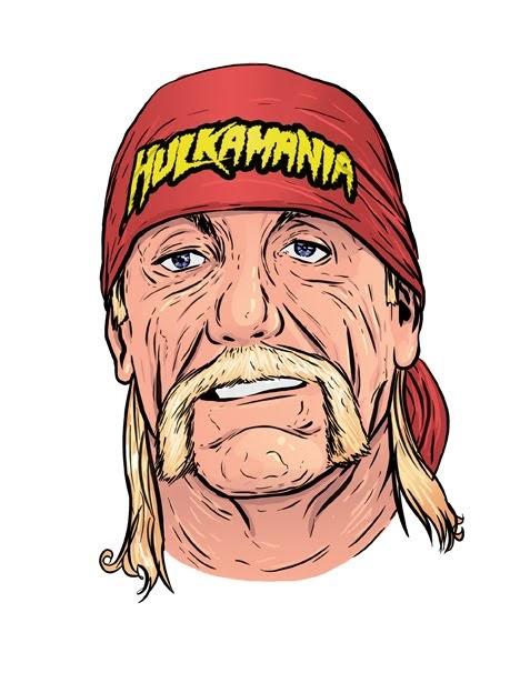 Hulk Hogan Drawing : hogan, drawing, Eclectic, Micks:, Hogan