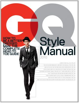 4f447e434ee0 GQ has now answered Esquire s Big Black Book with their release of the GQ  Style Manual. On sale now (and merchandised right next to Esquire s version  in ...