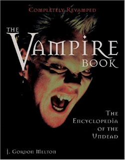 THE VAMPIRE BOOK by J. Gordon Melton