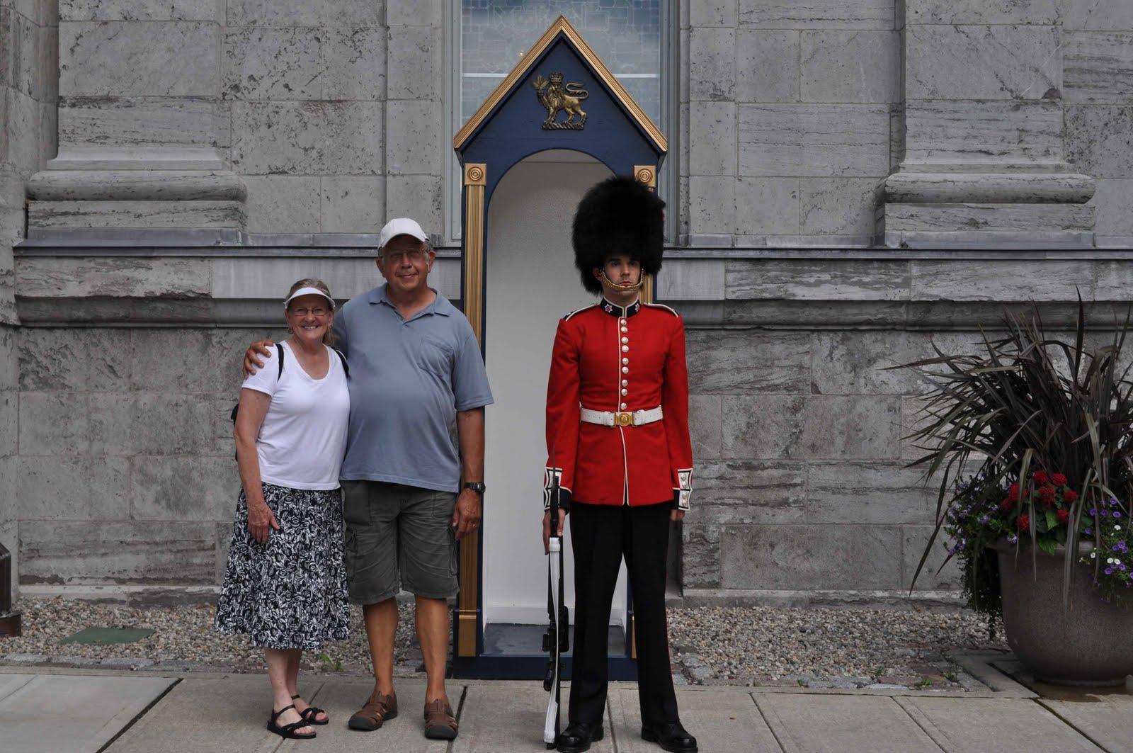 Rideau Hall sentry