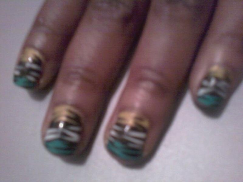 Nikki Jay The Makeup Artist: New Nail Design: Jungle Kitten!