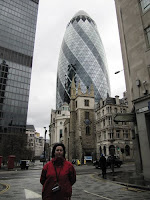 The Gerkin o el pepinillo, en Londres