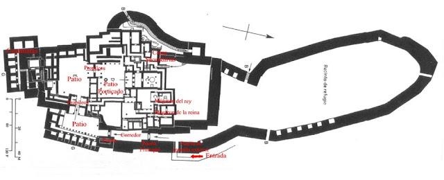 Mapa de Tirinto