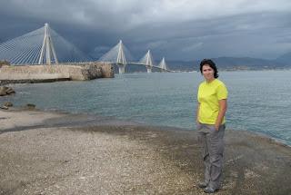El puente de Rio - Antirio en Grecia