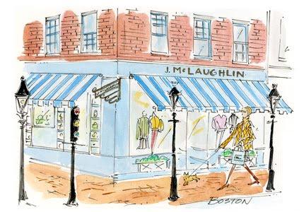 Boston, MA. U2013 J.McLaughlin Shop, Pve Design Illustration