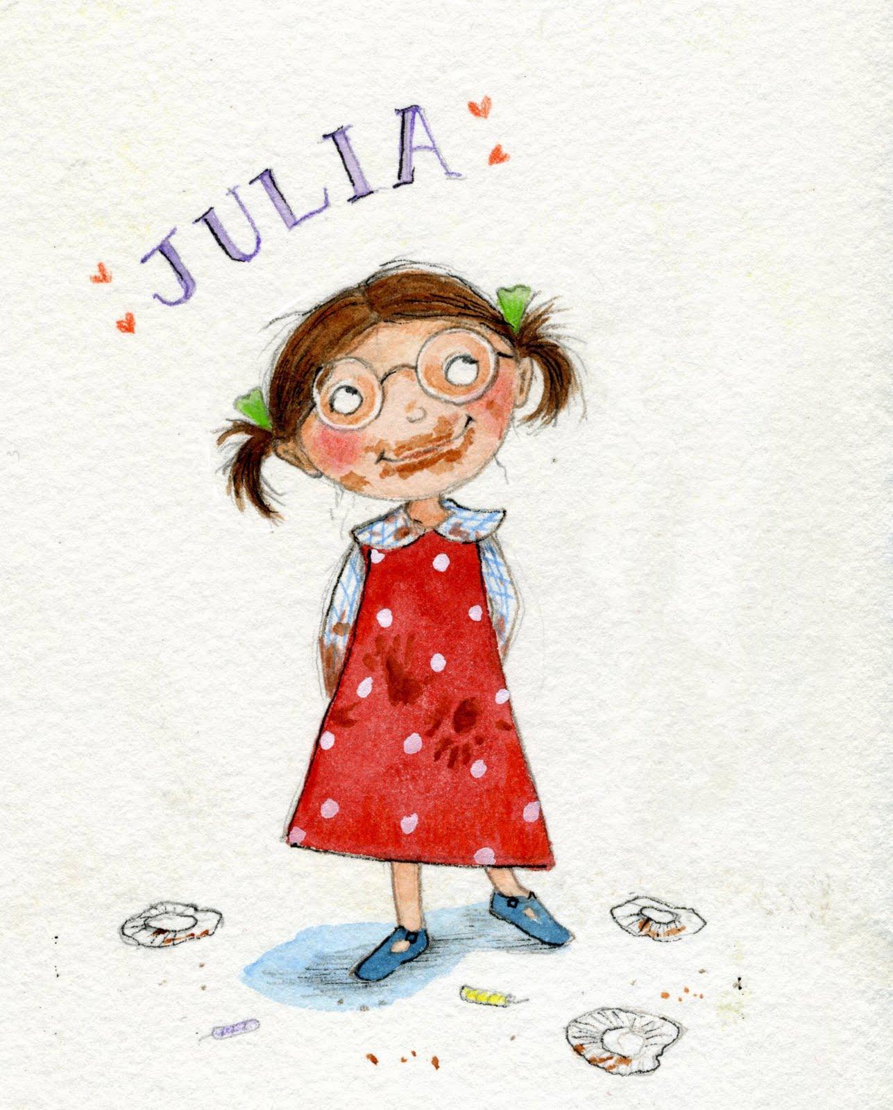 Liza Woodruff's Art Blog: Happy Birthday Julia