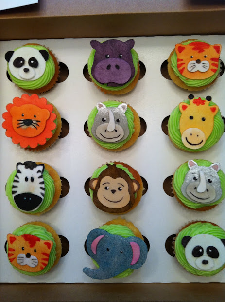 Sweet Lorraine Cakes Wild Animal Cupcakes