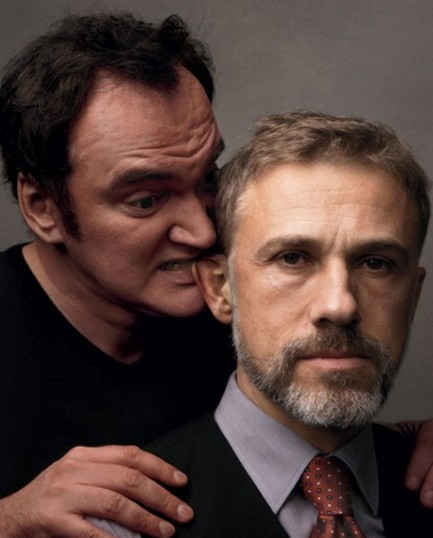 Quentin Tarantino e Christoph Waltz