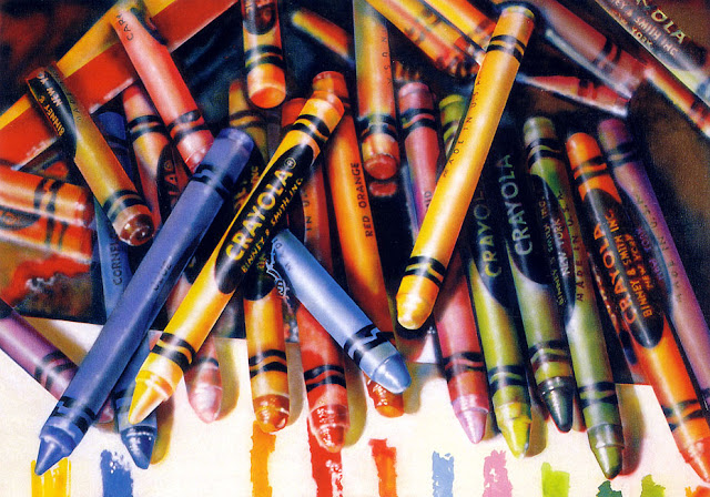 Audrey Flack - Crayola 1972-73
