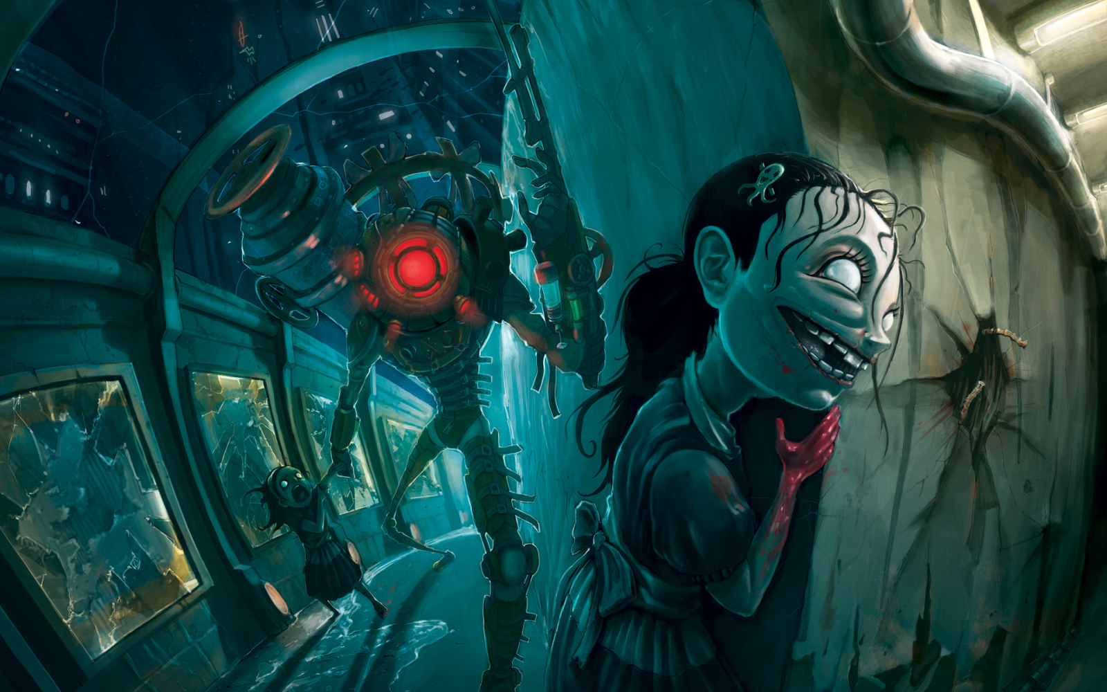 Wallpapers Box: Official BioShock 2 HD Wallpapers Pack