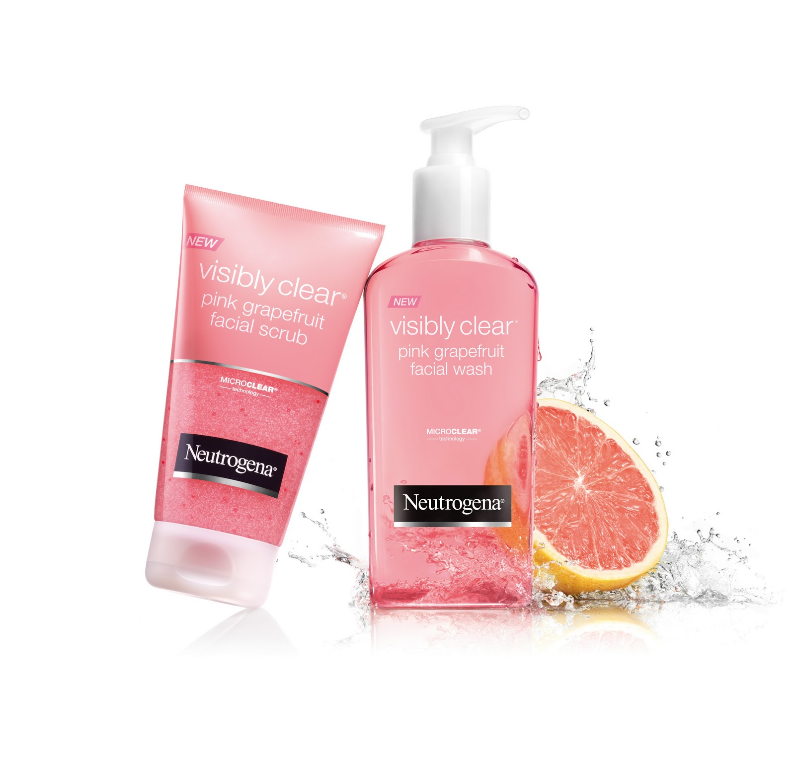 Given To Distracting Others: Neutrogena Visibly Clear Pink