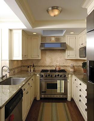 Inspirational homes cidade grande cozinha pequena for Small u shaped galley kitchen designs