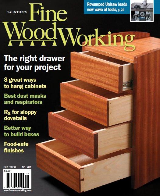 Fine Woodworking Magazine: December 2008