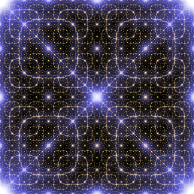 Fourer transform of the Hilbert curve pattern