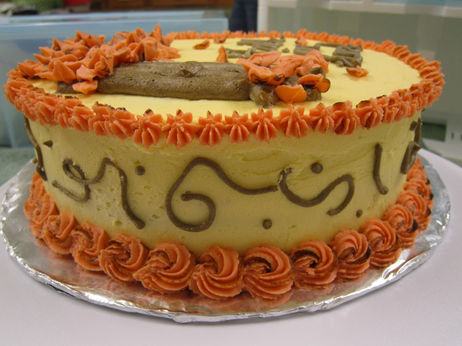Sweet Tooth Lulu: Wilton Cake Decorating Class