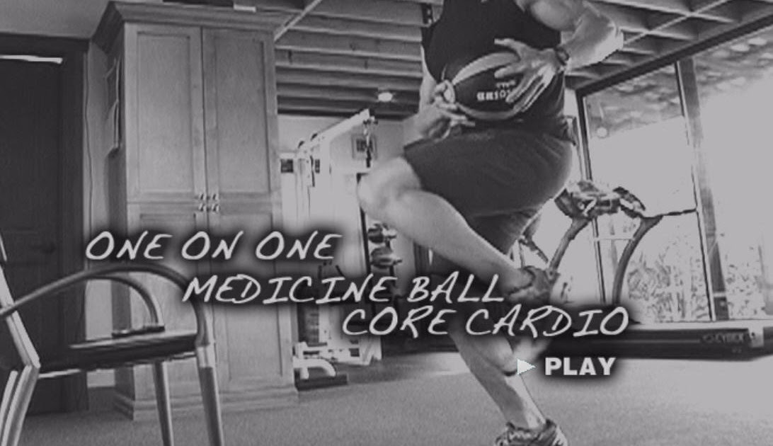 Book Reviews and More: Medicine Ball Core Cardio - Tony