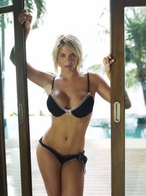 Sackhoff bikini katee Katee Sackhoff
