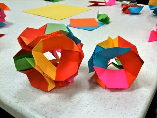 HOW TO MAKE ORIGAMI WATER BOMBS . — Gathering Beauty | 240x320