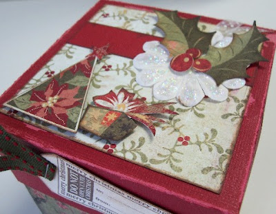Christmas Explosion Box Scrapbook Album
