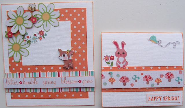 Easter Scrapbook Layout & Easter Cards