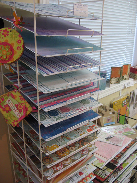Scrapbooking Craft Room Organization