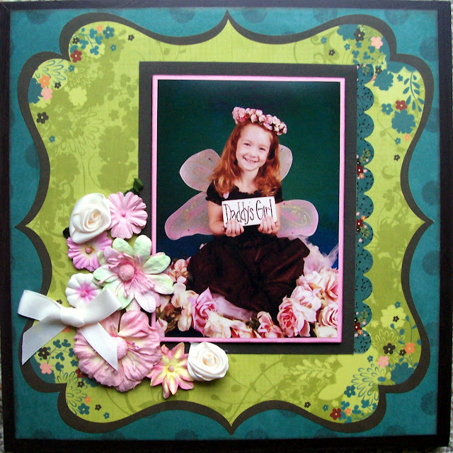 """""""Daddy's Girl"""" Father's Day Altered Wall Hanging Gift"""