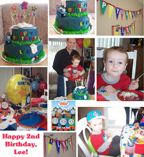 Thomas the Tank Engine 2nd Birthday Party