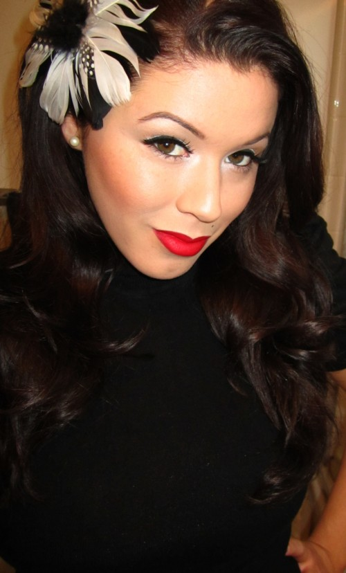 24 7 Makeup By Jewels: Pachuca (or Pinup) Inspired