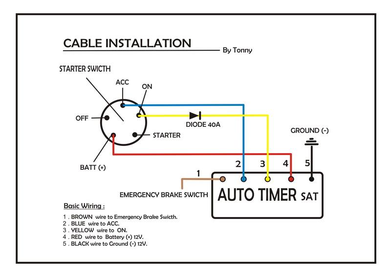 blitz turbo timer wiring diagram blitz voice guide turbo timer rh parsplus co HKS Turbo Timer Installation Diagram HKS Turbo Timer Install