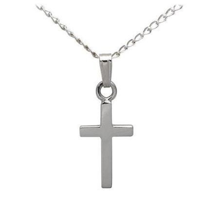 Silver Childrens Cross
