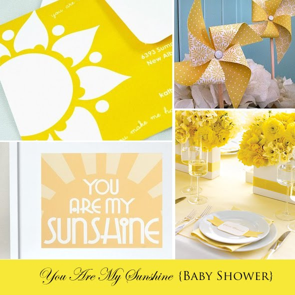 You Sunshine Shower Ideas Baby Are My