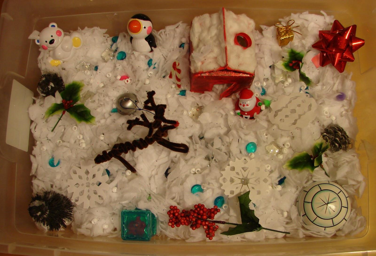 Childhood Beckons Winter Sensory Box