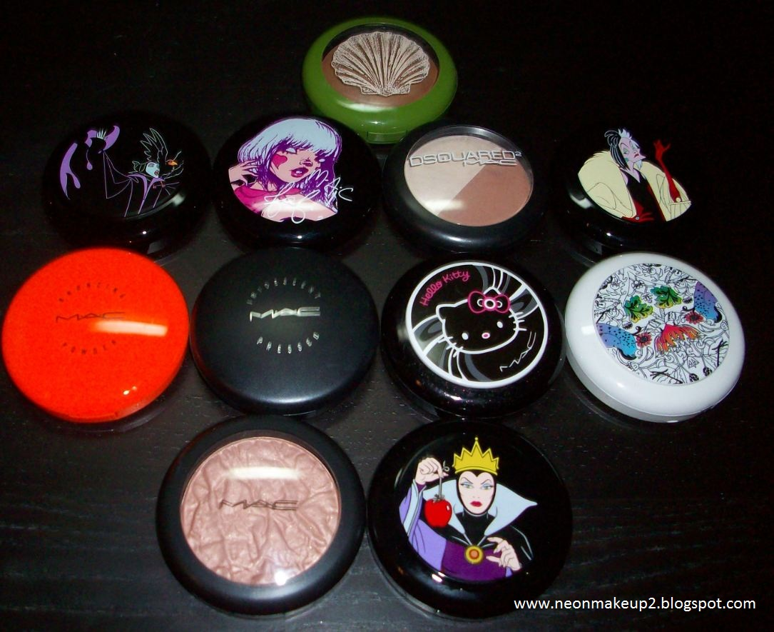 Neonmakeup2 My Collection Of Mac Blushes Beauty Powders