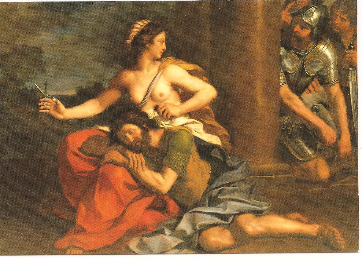 Samson et Dalila Guerchin (1591-1666)(dit), Barbieri Giovanni Francesco
