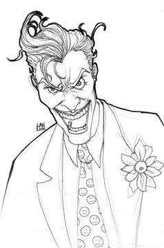 coloring pages batman villains - photo#16