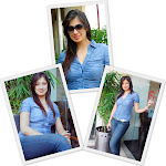 Lakshmi Rai latest photoshoot in blue jean