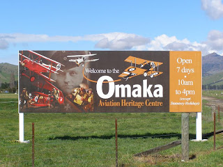 Welcome to the Omaka Aviation Heritage Centre