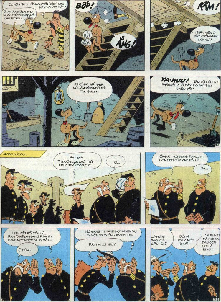 Lucky Luke tập 68 trang 7