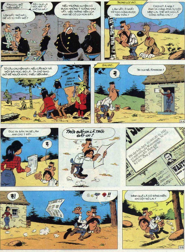 Lucky Luke tập 68 trang 31