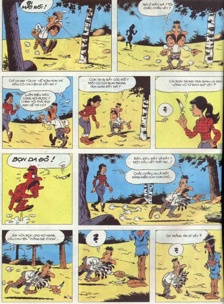 Lucky Luke tập 68 trang 32