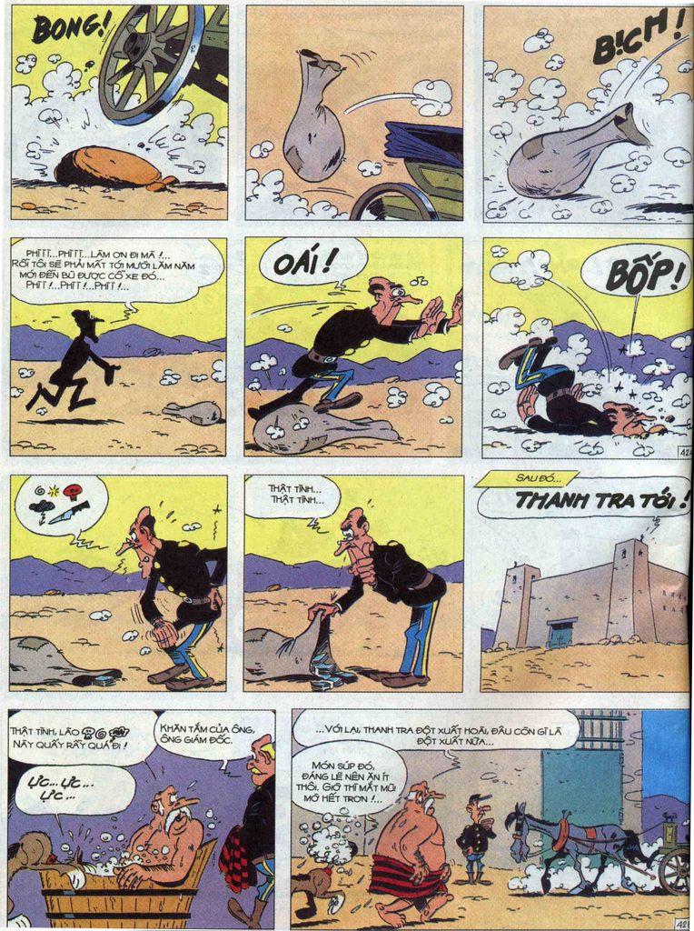 Lucky Luke tập 68 trang 42