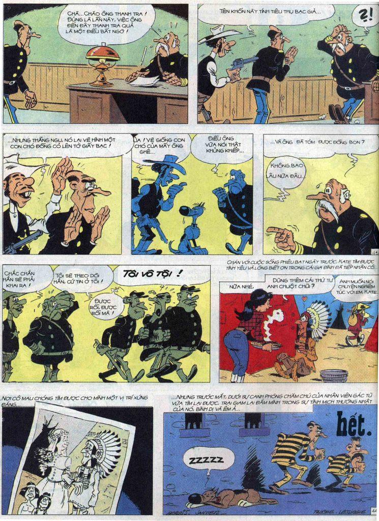 Lucky Luke tập 68 trang 44