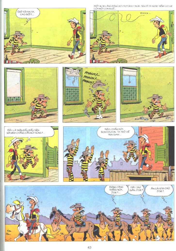 Lucky Luke tập 61 trang 41
