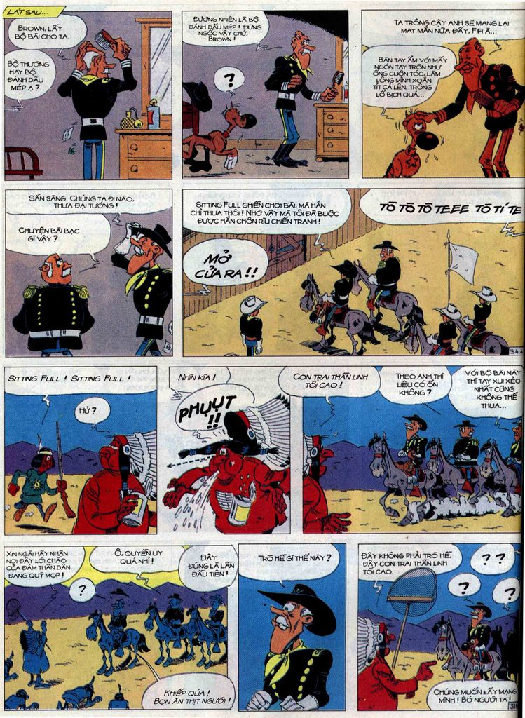Lucky Luke tập 60 trang 34