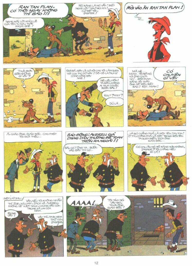 Lucky Luke tập 61 trang 10