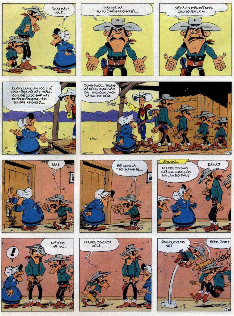 Lucky Luke tập 62 trang 27
